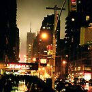 Streets of Manhattan by Alexander Isaias