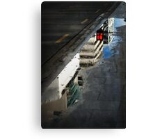 Red Light Reflection Canvas Print