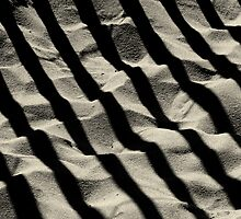 Sandy shadows by Miron Abramovici