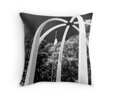 Security Federal Arches Throw Pillow