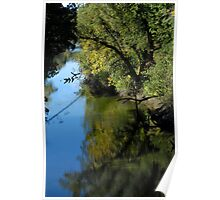 Napa River  •  Napa, California Poster