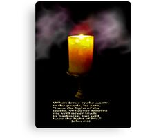 The Light Of The World (second version) Canvas Print