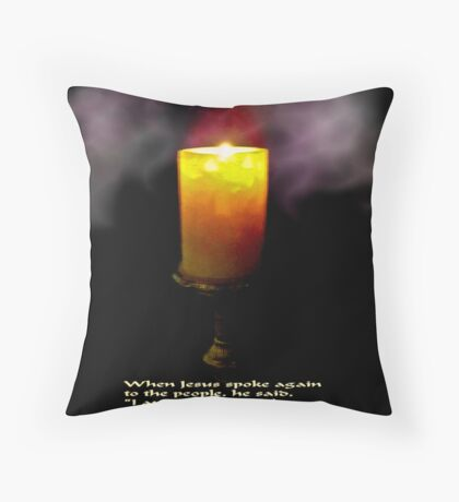The Light Of The World (second version) Throw Pillow