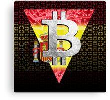 bitcoin spain Canvas Print