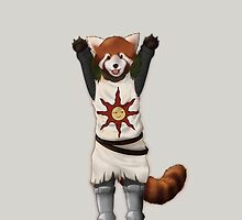 Red Panda - Warrior of the Sun! by Menebunny