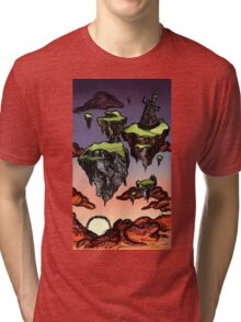 Above the Clouds Tri-blend T-Shirt