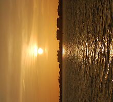 Warm Sun On The Water by dave1276