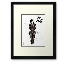 Samantha Traynor from Mass Effect game series Framed Print