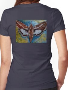 Spiral Butterfly VII Womens Fitted T-Shirt