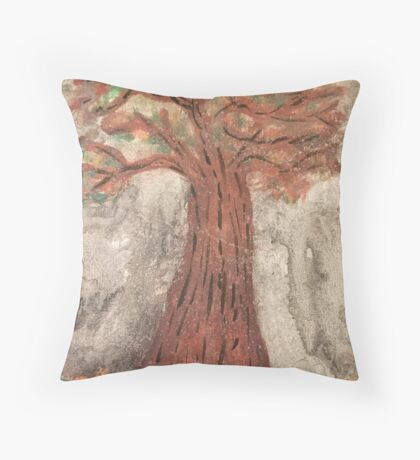 The Reaping Willow Tree Throw Pillow
