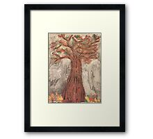 The Reaping Willow Tree Framed Print