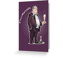 Marcello Maltese - Something Like Characters Greeting Card