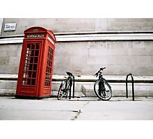somebody answer the phone Photographic Print