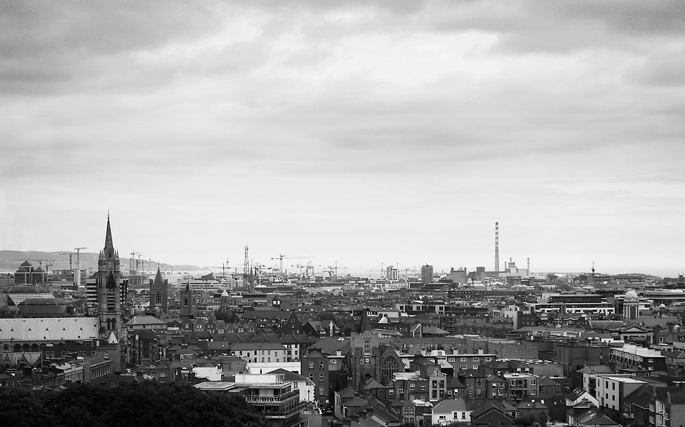 Dublin Cityscape by Susan Dailey