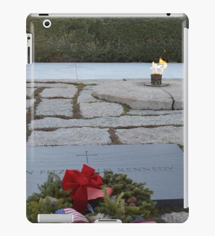 Kennedy Grave site iPad Case/Skin