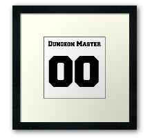Dungeon Master Framed Print