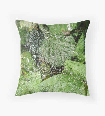 CRYSTAL MAZE Throw Pillow