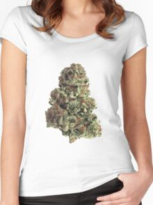 King Kush Women's Fitted Scoop T-Shirt