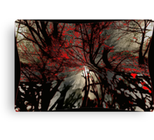 Sleepy Hollow Terror Canvas Print