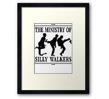 The Ministry of Silly Walkers Framed Print