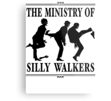 The Ministry of Silly Walkers Metal Print