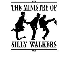 The Ministry of Silly Walkers Photographic Print