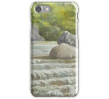 Waterfall Newstead Abby Grounds iPhone Case/Skin