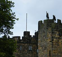 Alnwick Castle Turrets by pat oubridge