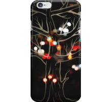 City lights from a skywalk iPhone Case/Skin