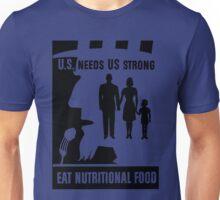 EAT NUTRITIONAL FOOD Unisex T-Shirt