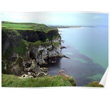 NI - NorthEast coastline ... looking toward White Rocks beach Poster