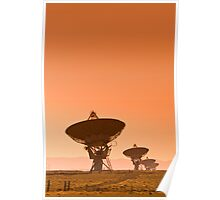 VLA (Very Large Array) of the National Radio Astronomy Observatory. Poster