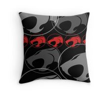 The Iconic Thundercats (black) Throw Pillow