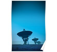 VLA (Very Large Array)  (Alan Copson (C) 2007) Poster