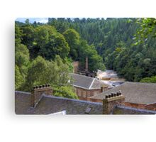 Over the Roofs Canvas Print