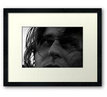Windy Days Framed Print