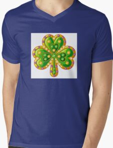 Jewelry shamrock Mens V-Neck T-Shirt