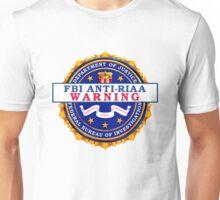 Anti-RIAA Warning Unisex T-Shirt