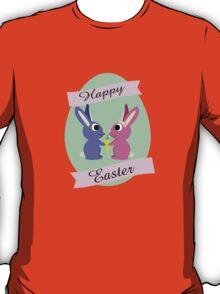 Happy Easter Cute Bunnies T-Shirt