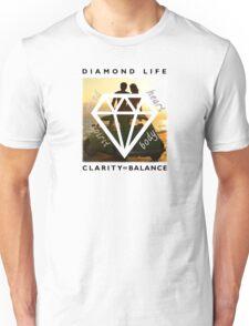 Diamond Life: Clarity ∞ Balance (boho style) Unisex T-Shirt
