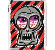Punk Rock Skull iPad Case/Skin