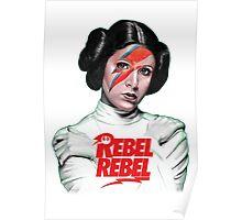Rebel Rebel Leia Poster