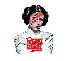 Rebel Rebel Leia Photographic Print