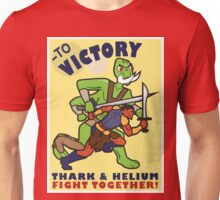 To Victory! Thark & Helium Fight Together Unisex T-Shirt