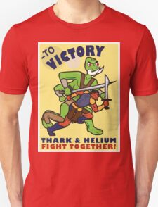 To Victory! Thark & Helium Fight Together T-Shirt