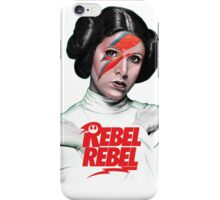 Rebel Rebel Leia iPhone Case/Skin