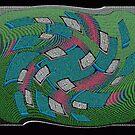 Psychedelic Squares by Deborah Dillehay