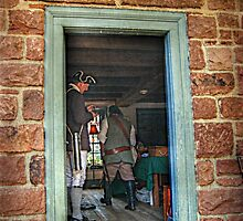 Looking Through The Doorway To The Past by Jane Neill-Hancock