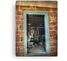 Looking Through The Doorway To The Past Canvas Print