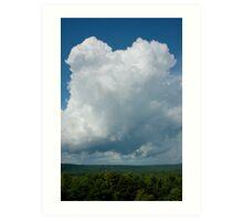 tall cloud Art Print
